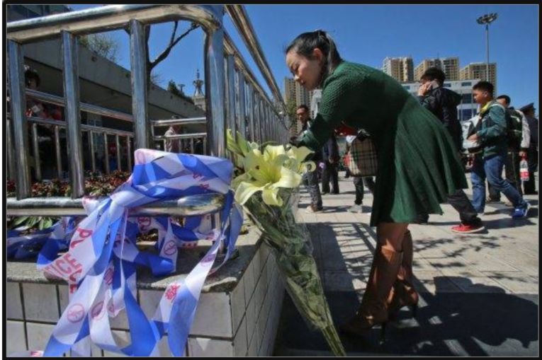 新疆ウィグル自治区での集団虐殺