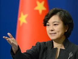 中国外務省の華春瑩報道官