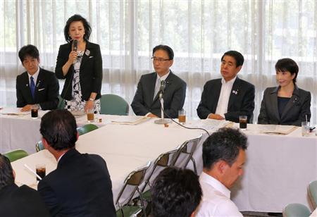 櫻井よしこ氏「朝日新聞は廃刊すべき」 議員連盟での講演要旨