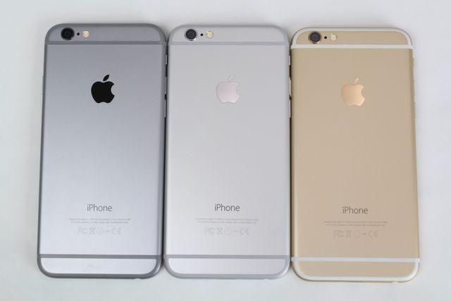 iphone6色の違い