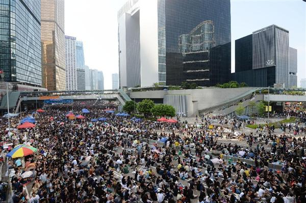 香港デモ 20141001