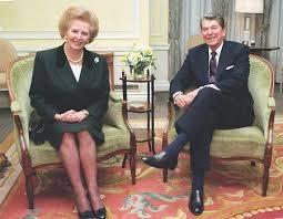 サッチャー元英首相とレーガン元米大統領