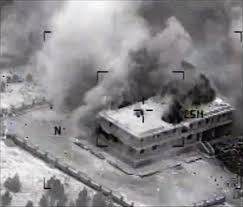 シリア北部空爆