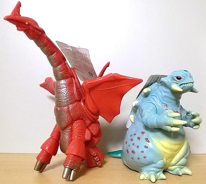 ウルトラ怪獣シリーズ コダラー&シラリー