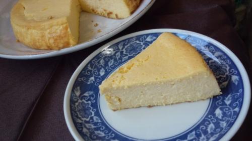 2014-9かぼちゃのチーズケーキ