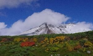 2014年旭岳 初冠雪