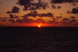 2014年日本海落日