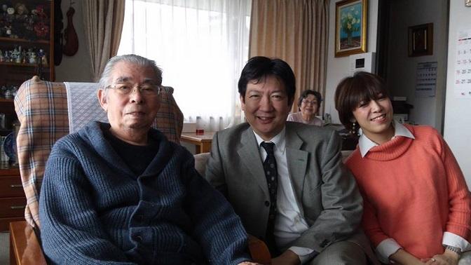川上さんと父と小