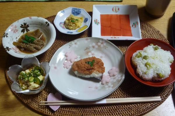 4月お誕生日会お料理小