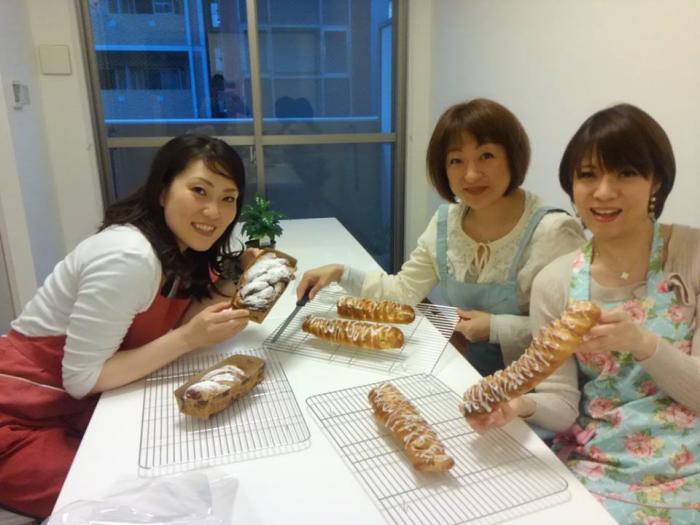パン教室3人小