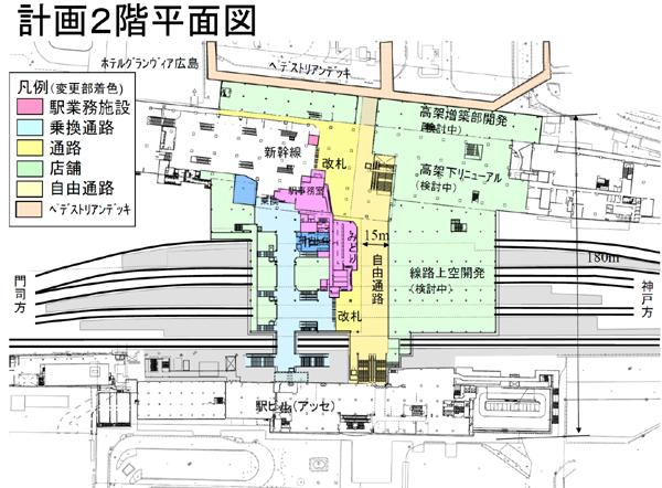 西広島駅自由通路等の整備について - 広島 ...