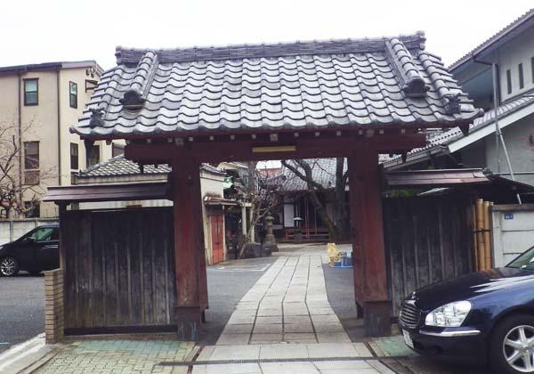 観明寺 赤門