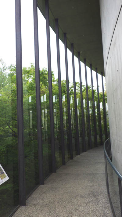 司馬遼太郎記念館の入り口付近