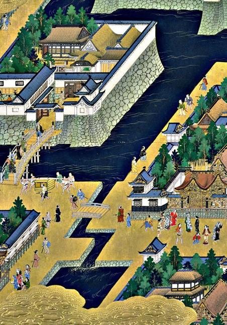 和田倉橋、和田倉門あたりの絵図