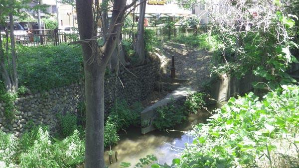 旧千川上水分水口跡