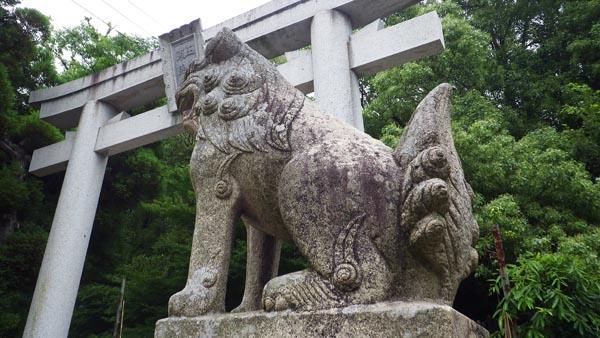 玉井宮東照宮 狛犬