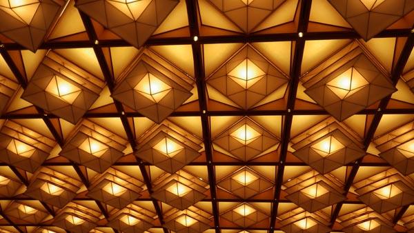 藤の間 天井