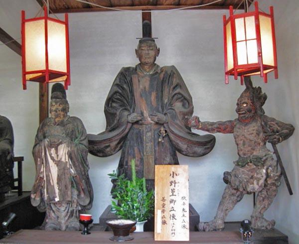 六道珍皇寺 小野篁の像