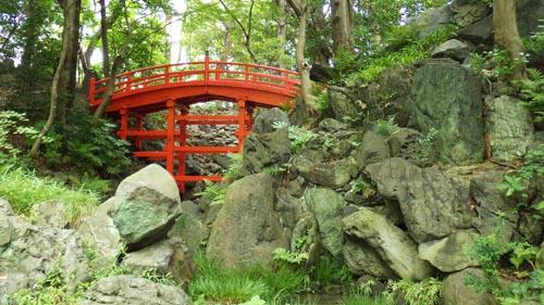 通天橋と音羽の滝