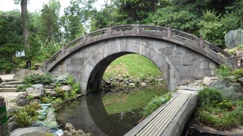 右に行くと神田上水 左に行くと大泉水