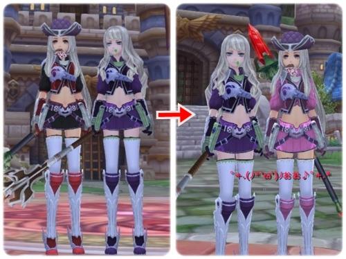 紫も素敵(っ´ω`c)
