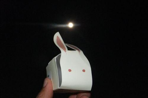 月見団子とお月様