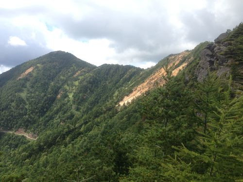 東篭ノ登山と赤ゾレ