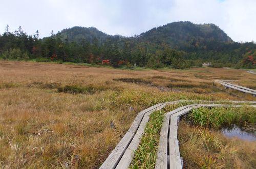 志賀山と裏志賀山