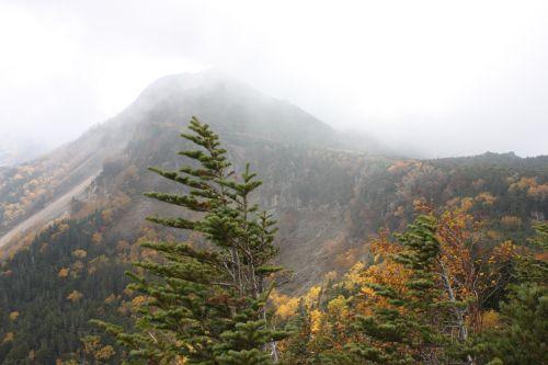 中山峠から天狗岳