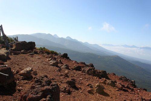 南八ヶ岳と南アルプス