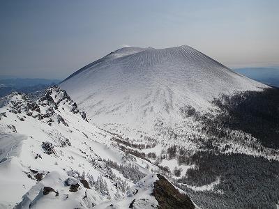 蛇骨岳からの浅間