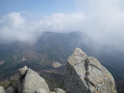 鎌ヶ岳から御在所