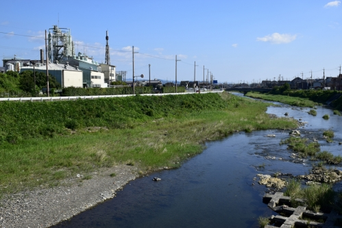 賀茂川の堰