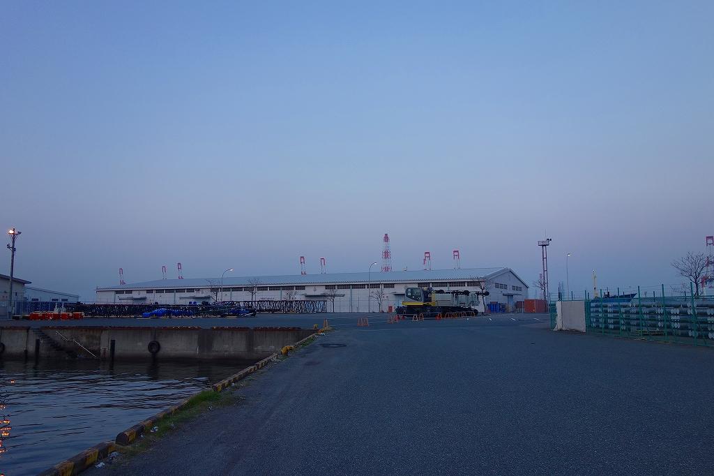 名古屋港にて2