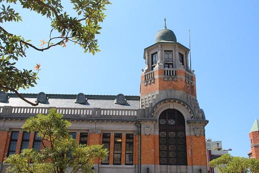 遥ちゃんと門司港 2014-9-8-2