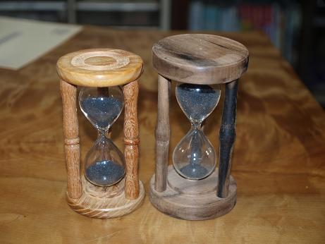 砂時計2個
