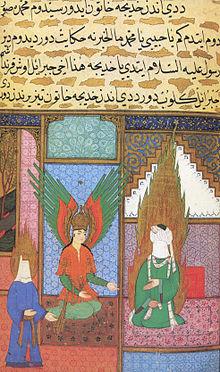 220px-Siyer-i_Nebi_-_Gabriel_-dschabrail-_erscheint_im_Haus_des_Propheten_Muhammad,_links_Chadidscha