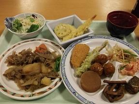 紅葉夕食2014.10