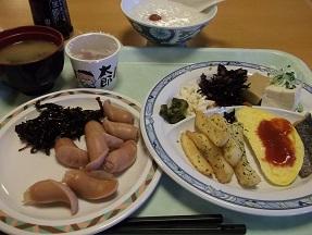 紅葉朝食2014.10