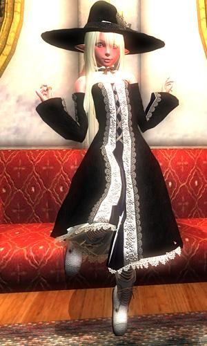 帽子とドレスが似合いすぎ!