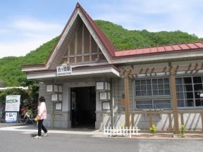吉ヶ原駅舎