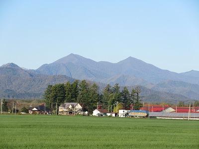 伏見岳と妙敷山