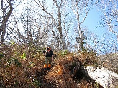 伏見岳登山道3