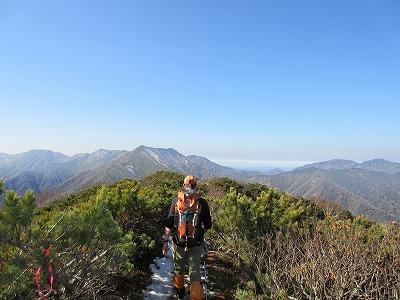 伏見岳山頂2