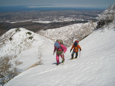 斜里岳玉石コース(H=1280m)