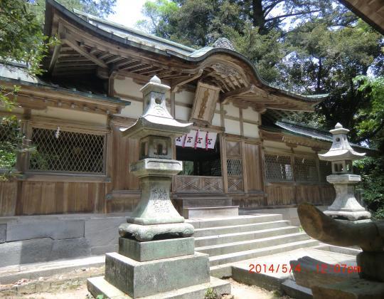 志都岐山神社本殿