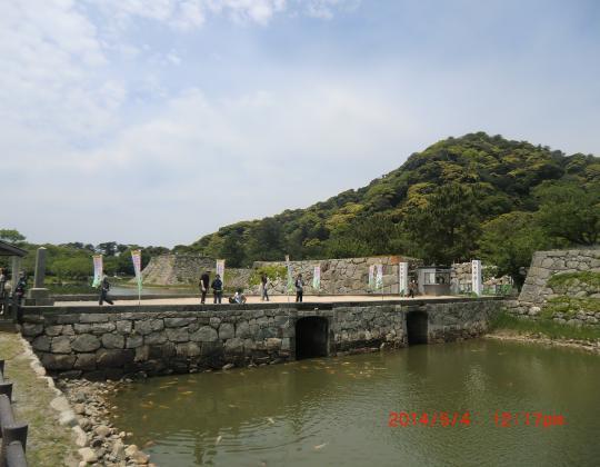 萩城址と指月山