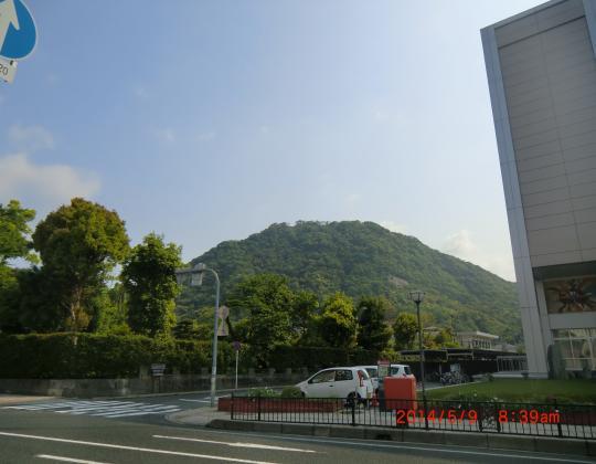 鳥取城址(山・県庁)