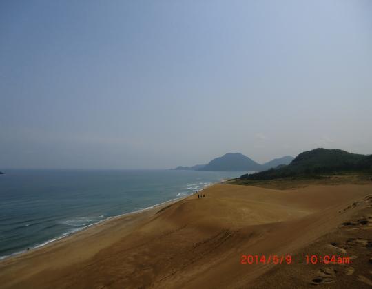 鳥取砂丘⑤
