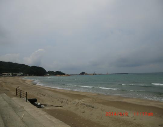 富浦海岸①